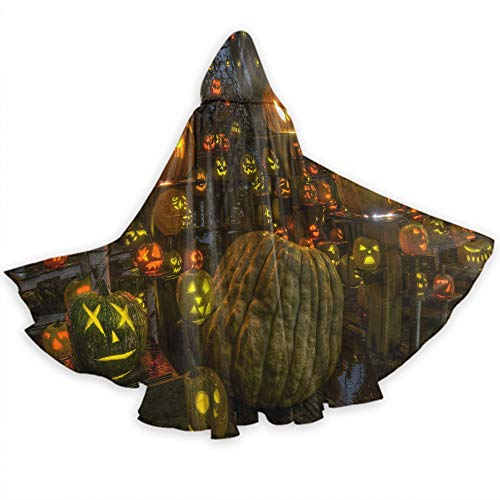 Ciara Halloween Costume (Khdkp Unisex Casual Hooded Poncho Cape, Cosplay Costumes Halloween Party)