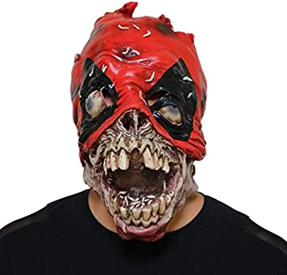 LSTC Halloween látex Miedo Terror Zombis mascarillas Cabeza ...