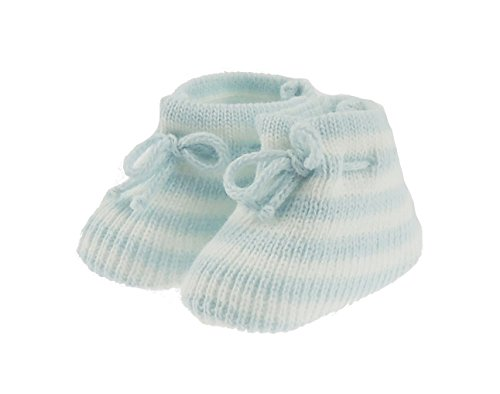Hats By Cressida , Baby Mädchen Krabbelschuhe & Puschen Puschen Puschen Blau Blau Blau - Blau 29fc81