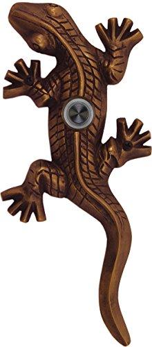 Solid Brass Gecko Doorbell - Oil Rubbed Bronze ()