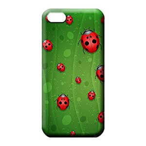 iphone 5 5s phone back shell New Style Extreme High Grade Cases red lady bugs