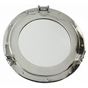 41z0Ok1DelL._SS300_ 100+ Porthole Themed Mirrors For Nautical Homes For 2020