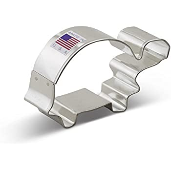 Ann Clark Turtle Cookie Cutter - 3.25 Inches - Tin Plated Steel