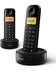 Duo draadloze telefoon D1602B/34 - zwart