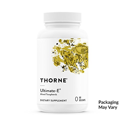 Thorne Research - Ultimate-E - Contains All of The Natural Forms of Vitamin E - 60 Gelcaps
