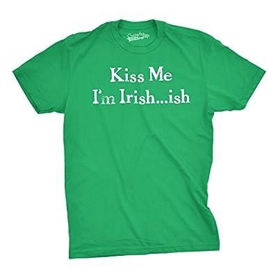 I'm Irish-ish so Kiss Me T Shirt Funny Saint Patricks Day Tee