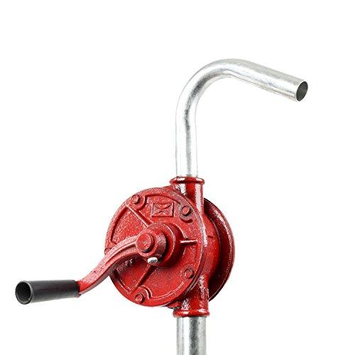 (TeraPump Rotary Hand Manual Drum Barrel Pump)