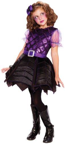 Loftus International Big Girls' Spiderella Costume, 8/10