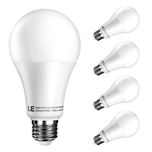 Bulbs Equivalent 1500lm Angle Dimmable