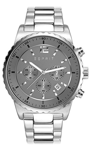 Esprit Watch Theon - ES108231001-Silver - stainless-steel-Round - 44 mm