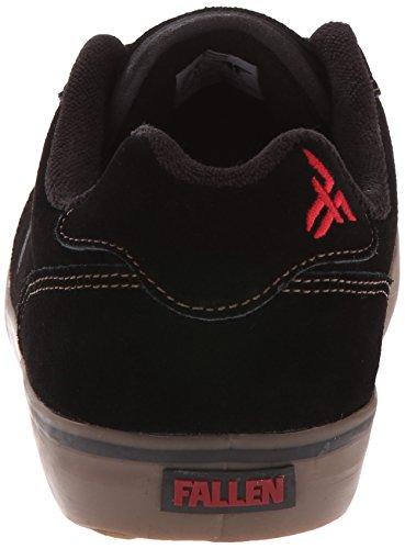 Chaussures De Skate Fallen Slash Noir / Gomme Nero, Noir / Gomme, 39 Eu / 7 Us