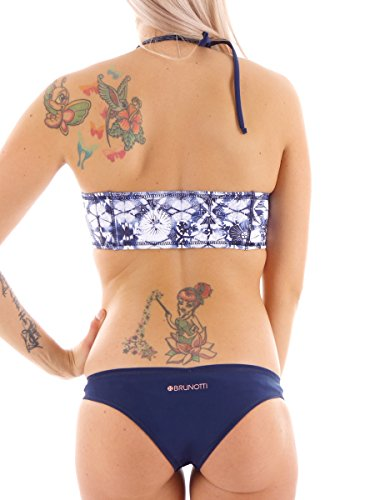 Brunotti Bikini Sanzi Swimwear blau Bandeau Stretch Extra Comfort LSF Gr  38B 161220714
