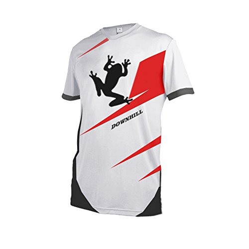 Uglyfrog Outdoors Mens Cool Breathable Cycling Jersey Motocross Top ()