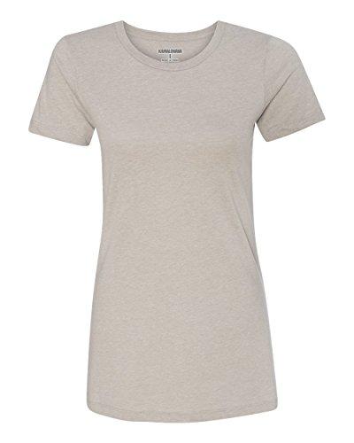KAMAL OHAVA Women's Premium Crew T-Shirt, XL, Silk