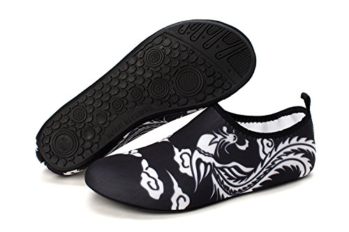 Yoga Aqua norocos Lightweight Surf 008phoenix Men's Water Quick Women's Socks Swimming Dry Shoes Soft White Beach xr8HrwOfnF