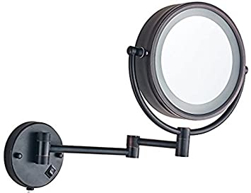 Amazon.com: Soporte de pared con luz LED de maquillaje ...