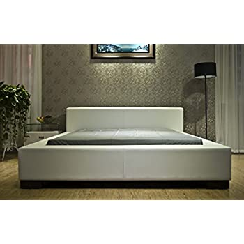 Amazon Com Greatime B1142 Queen Size White Color Modern