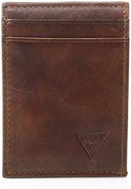 GUESS mens Naples /& Montana Slim Front Pocket Wallet Credit Card Holder