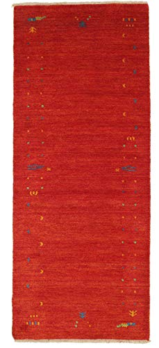 RugVista Gabbeh Loom - Red Rug 2'7