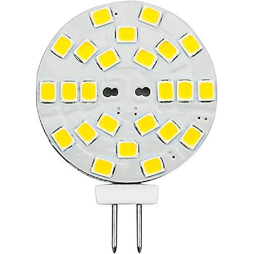 2 Watt - G4 Base LED Wafer - 230 Lumens - 3000 Kelvin - Halogen Color - Replaces 20 Watt Halogen - 12VDC (Led 230 Lumen)
