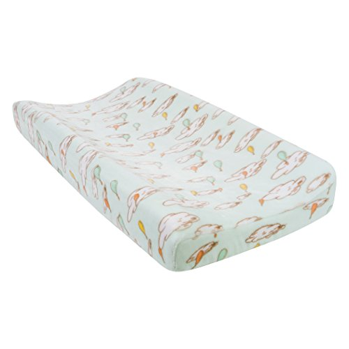 Trend Lab Plush Changing Pad Cover, Multi Dr. Seuss Oh The Places You'll Go