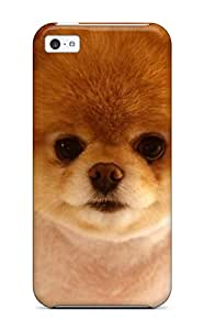 Defender Case With Nice Appearance (beautiful Cute Dog Boo) For Iphone 5c 3677799K64894680