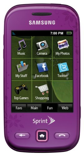 Samsung Trender Phone Purple Sprint