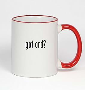 got ord? - 11oz Red Handle Coffee Mug