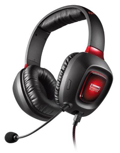 🥇 CREATIVE Sound Blaster Tactic 3D Rage – Auriculares de Diadema para Videojuegos