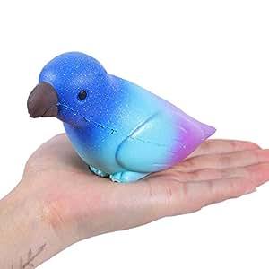 Amazon com: Yezike Slow Rising Toy,Squishies Cute Parrot