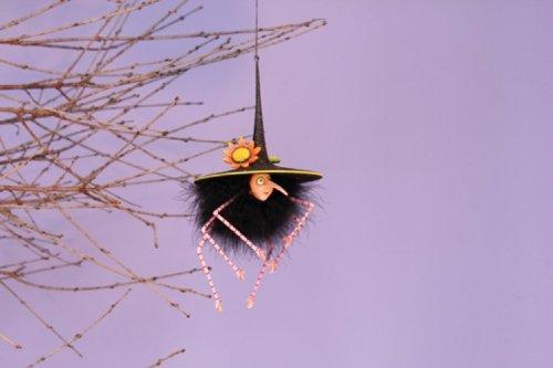 Patience Brewster Krinkles Halloween Spider Ornaments 8