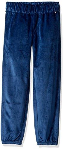 - Tommy Hilfiger Girls' Big Knit Velour Pant, Flag Blue, Medium