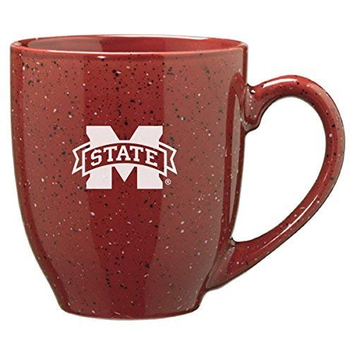 LXG, Inc. Mississippi State University - 16-ounce Ceramic Coffee Mug - Burgundy
