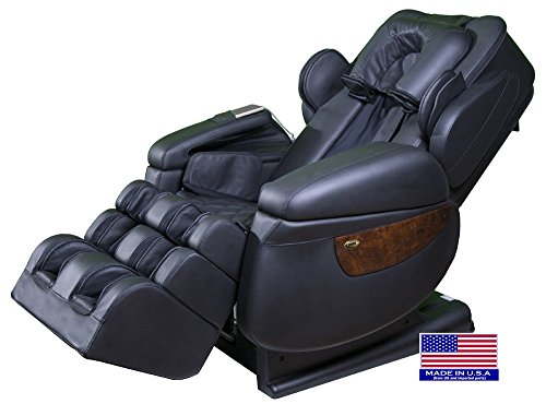 Price comparison product image Luraco i7 iRobotics 7th Generation 3D Zero Gravity Heating Massage Chair Black