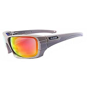 EDTara Full Frame Outdoor Sport Tactical Windproof Ultraviolet-proof Wraparound Sunglasses Military Glasses Khaki