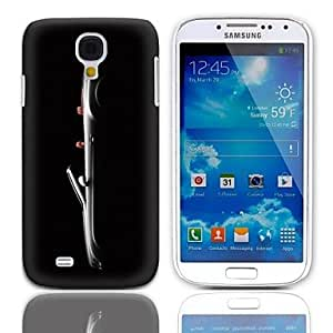 Roadster Pattern Hard Case with 3-Pack Screen Protectors for Samsung Galaxy S4 mini I9190