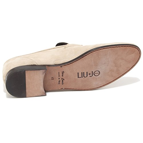0579i Jo Liu Men Loafers Uomo Shoes Beige Scarpe Mocassini tq1rt