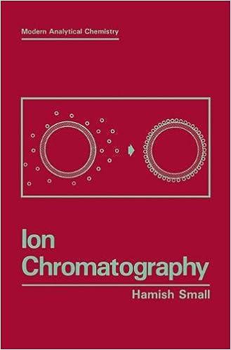 Ion Chromatography (Modern Analytical Chemistry)