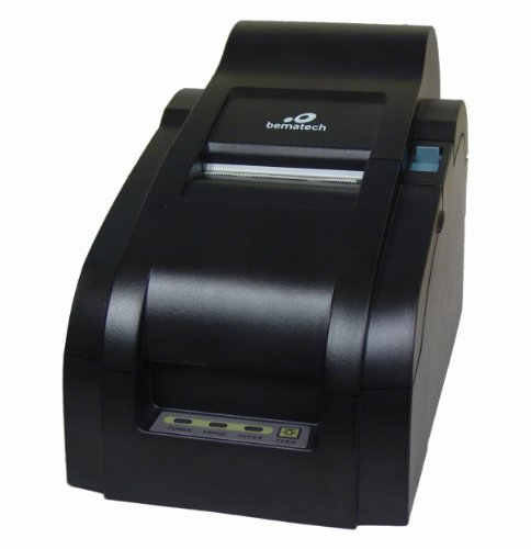Impact Full Color Printers - Bematech MP200PR POS dot matrix impact printer with auto cutter and rewinder, parallel interface