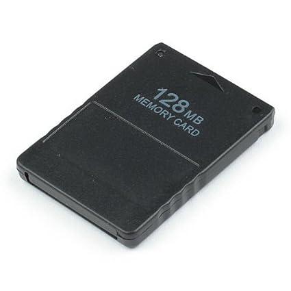 OSTENT Alta Velocidad 128MB Tarjeta de Memoria Unidad Compatible para Sony Playstation 2 PS2 Slim Videojuegos