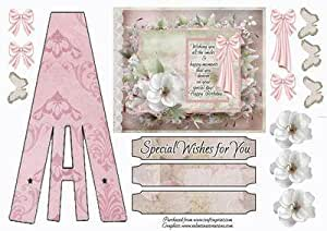 Estructura 1 tarjeta por Angela Ludwig