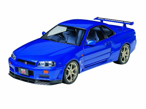 Tamiya 1/24 Sports Car | Model Building Kits | No.210 NISSAN SKYLINE GT-R Spec V (R34) 24210 [ Japanese Import ] (Nissan Skyline Model compare prices)