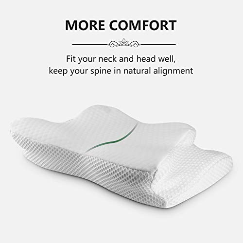 Cervical Pillow Contour Pillow For Neck And Shoulder Pain