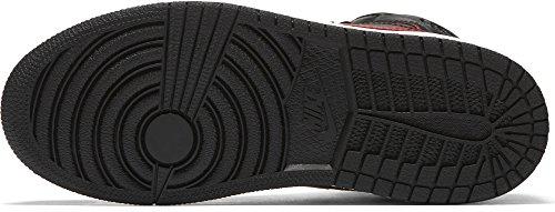 Lacoste Herren Giron HTB Sneaker, Schwarz / Dunkelgrau, 10 D Schwarz / Gym Rot-Gym Rot-Weiß