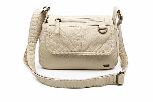 The Willma Crossbody Bag Shoulder Handbag Vegan Leather by Ampere Creations -