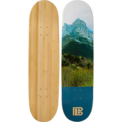Bamboo Skateboards Graphic Skateboard Deck- More Pop, Lighter, Stronger, Lasts Longer Than Most Decks! (8.25, - Deck 8.25 Skateboard