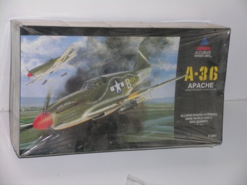 1/48 Apache A-36 Dive Bomber Allison Engine Accurate Miniatures