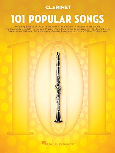 - 101 Popular Songs: for Clarinet