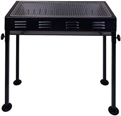 Grill HZY Tragbarer abnehmbarem Fuß for einfache Installation, Kochen im Freien, Barbecue 66,5 * 30,5 cm