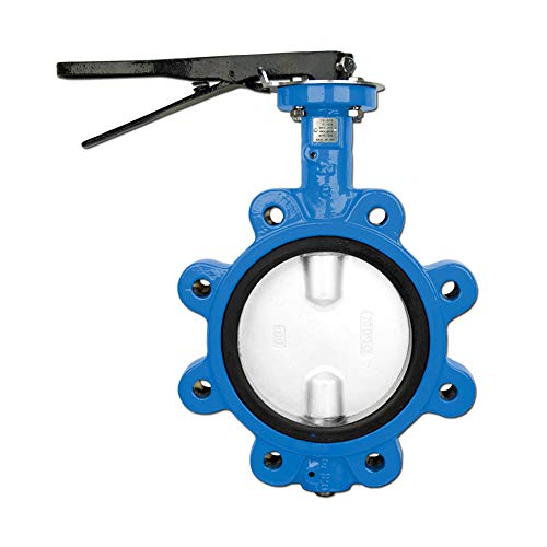 Lug Butterfly Valve - Bonomi N501N Lever operated butterfly valve EPDM seat, lug body nylon coated disc. (12